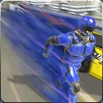 Super Light Speed Robot Superhero: Speed Hero icon