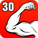 Arm Workouts - Strong Biceps in 30 Days at Home icon