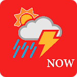 Now Weather for pc logo