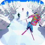 Racing in Mountain Ski 2019: Top Hill Skiing Racer icon