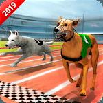 Crazy Wild Dog Racing Fever Sim 3D - Dog Race 2019 icon