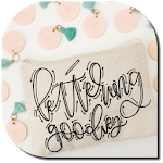 Hand Lettering Styles icon
