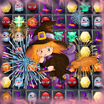 witch puzzle match game icon