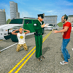 US Border Police vs City Gangsters icon