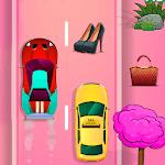 RacingGame for Girls Fashionable Cars fun Racecar icon
