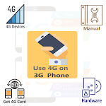 4G on 3G Phone Info. icon