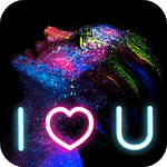 Neon Light Photo Effects icon