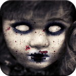 Scary Doll Camera icon