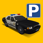 detroit police parking 3D icon