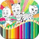 Coloring Book for PJ Heroes Masks icon