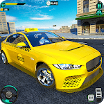 City Taxi Driver Simulator : Car Driving Games icon
