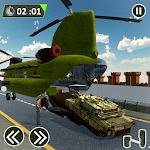 Army Plane Car Transporter Simulator icon