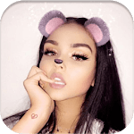 Candy selfie icon