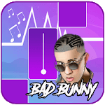 Bad Bunny - Piano Tiles Song for pc logo