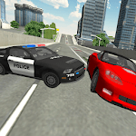 City Police Patrol Driving icon