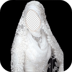 Hijab Wedding Photo Frames icon