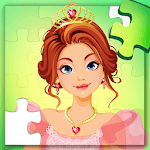 Princess Puzzles for Kids for pc logo