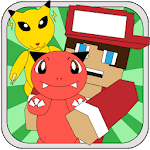 Pixelmon Craft GO : catch them all for pc logo