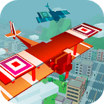 Pixel War Air Combat Attack 3D icon