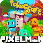 PixelMon mod: cube and craft 3d icon