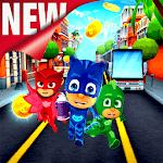 Catboy Pj Subway Heros Run Mask icon