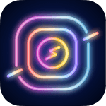 challa NEON - Real NEON sign effect, filter for pc logo