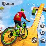 Mega Ramp BMX Racing Impossible Stunts icon