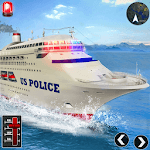Police Cruise Ship Transport : Driving Simulator icon