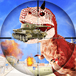 FPS Dinosaur Hunter: Dino Gun Action Games 2018 icon