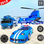 Police Car Transporter Truck 2019 icon