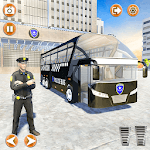 Offroad Police Bus Driving Simulator icon