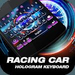 Racing Car Dashboard Keyboard Theme icon