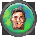Messi and Ronaldo icon