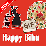 Happy Bihu GIF Images and Messages Collection icon