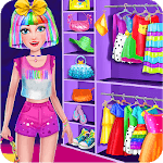 Unicorn Rainbow Makeover - Dress up & Makeup Game icon