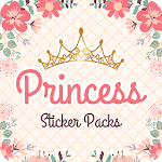 Magic King Princess Stickers for WhatsApp icon