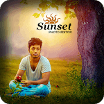 Sunset Photo Editor HD icon