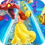 Princess Run - Hungry Dragon Escape icon