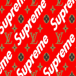 Supremme & LV Wallpaper icon