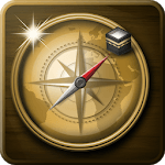 Qibla Direction Finder Compass, Prayer Time, Alarm icon