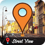 Street view - Earth map, GPS live maps icon