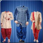 Indian Sherwani Photo Suit - men sherwani pic suit icon