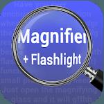 Magnifying Glass Flashlight Free icon