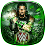 Roman Reigns wallpaper for pc logo