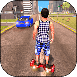Racing in Hoverboard: Speed Running Game icon
