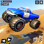 US Police Monster Truck Derby Crash Stunts icon