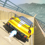 Mega Ramp Car Stunts Free icon