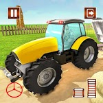 Real Farming Tractor Driving Simulator icon