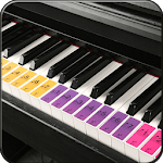 Real Piano Learning Keyboard 2019 icon
