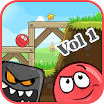 Red Adventure: Bounce Ball Volume 1 icon